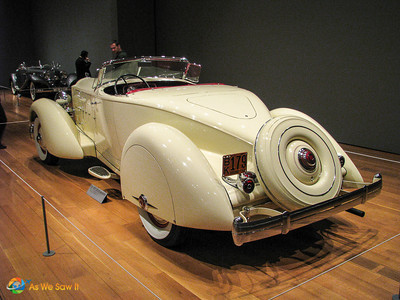 1934 Packard Twelve Runabout Speedster, formerly owned by Clark Gable