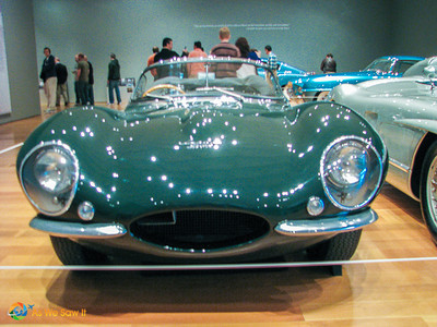1957 Jaguar XK-SS Roadster, formerly owned by Steve McQueen