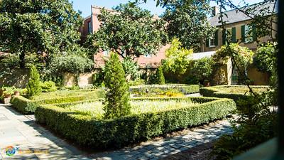 Garden at Owens Thomas House