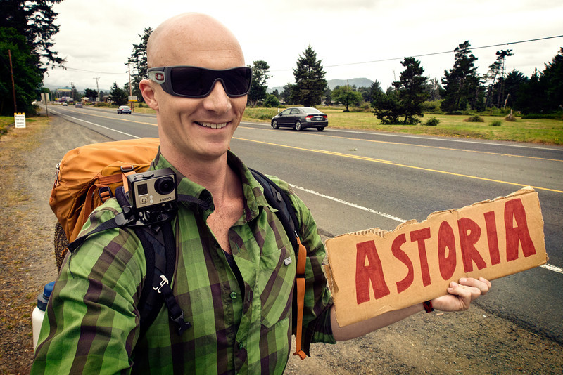 Hitchhiking in Oregon