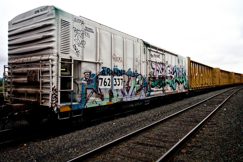 Train Hopping: Refrigerated Boxcar