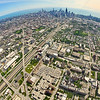 Aerial photo of Chicago, Illinois