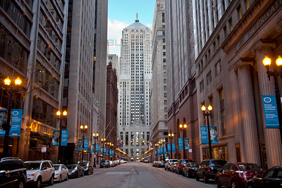 LaSalle Canyon in Chicago