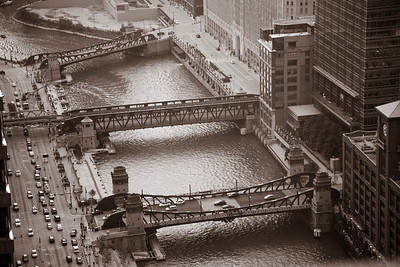 The Bridges of the Chicago River