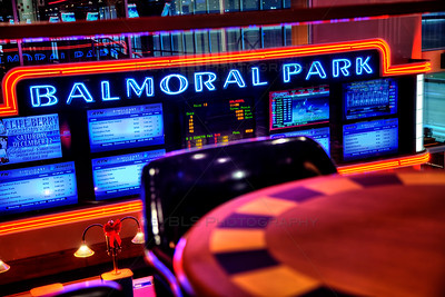 Balmoral Racetrack in Crete, Illinois - Horse Harness Racing