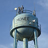 Monee, Illinois Water Tower