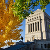 Indianapolis, Indiana World War Memorial Fall