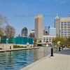 Spring at the Indianapolis Canal Walk