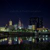 Downtown Indianapolis, Indiana at Night