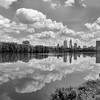 Downtown Indianapolis Skyline on the White River
