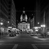 The Indiana Statehouse in Indianapolis, Indiana