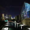 Downtown Indianapolis, Indiana Canal View at Night