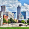 Downtown Indianapolis, Indiana Skyline