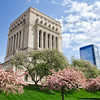 Spring at the Indianapolis Veterans Memorial