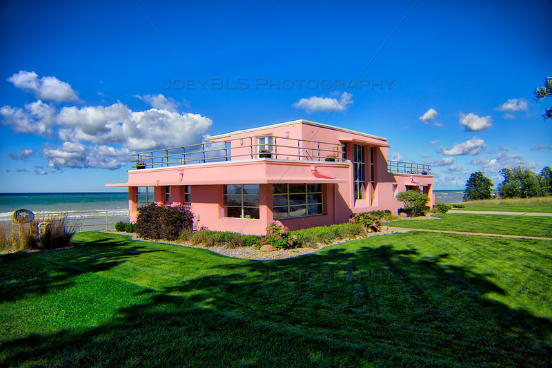 Florida Tropical House - Century of Progress Homes in Beverly Shores, Indiana
