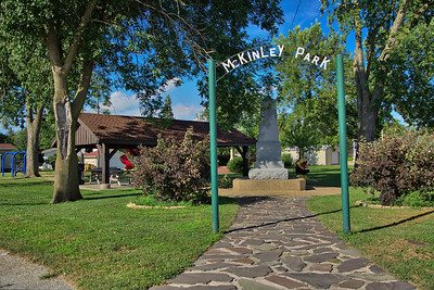 McKinley Park in Brook, Indiana