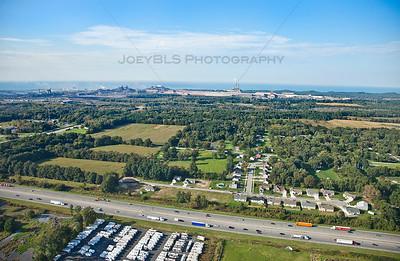 Aerial photo of Burns Harbor, Indiana