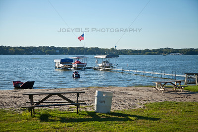 Boating in Cedar Lake, Indiana