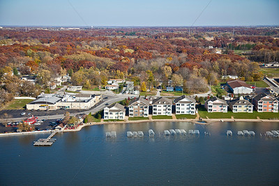 Aerial photo of Cedar Lake, Indiana