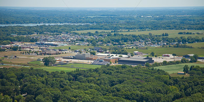 Aerial photo of Hanover Central High School Cedar Lake, Indiana