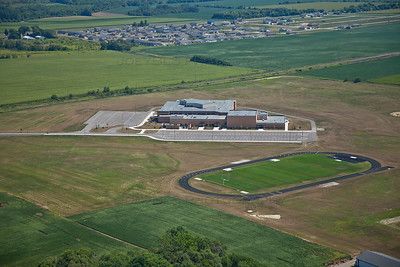 Hanover Central Middle School in Cedar Lake, Indiana