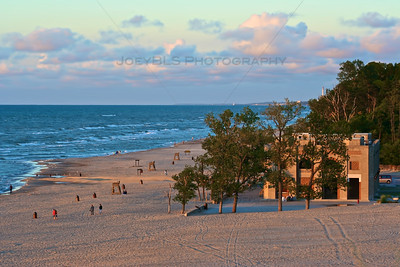 Indiana Dunes State Park in Chesterton, Indiana