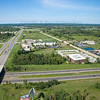 Aerial photo of Chesterton, Indiana at Gateway Blvd and Indiana Tollroad