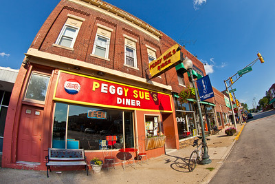 Peggy's Sue's Diner in Chesterton, Indiana