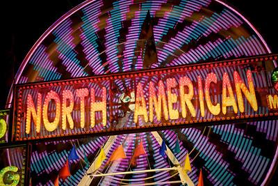 Open Shutter Ferris Wheel