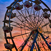 Ferris Wheel at the Lake County Fair in Northwest Indiana