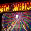 North American Ferris Wheel Lights