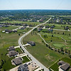 Aerial Crown Point, Indiana White Hawk Country Club