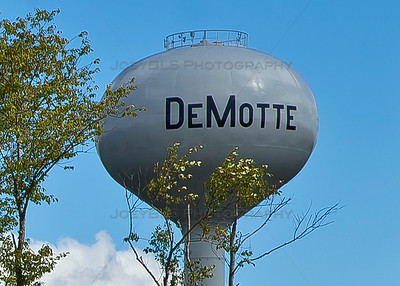 DeMotte, Indiana Water Tower
