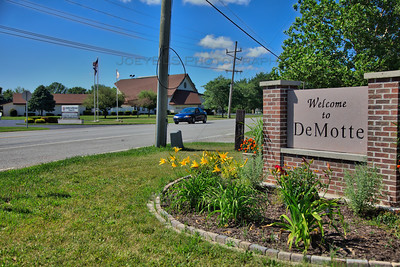 Welcome to DeMotte, Indiana Sign