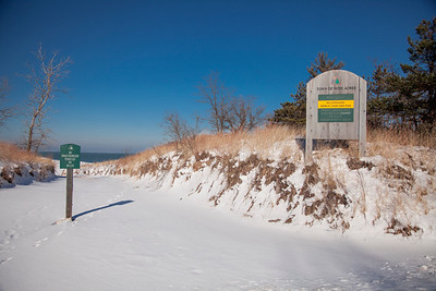 Dune Acres, Indiana National Lakeshore Beach Entrance
