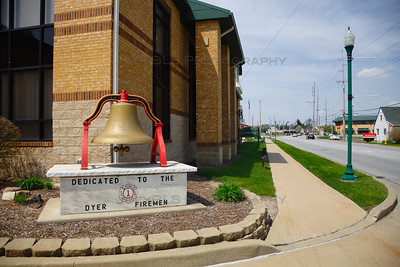 Dyer, Indiana Fire Station Bell