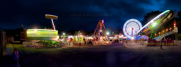 Summerfest Festival in Dyer, Indiana - Panoramic
