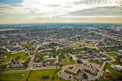 Aerial photo of East Chicago, Indiana