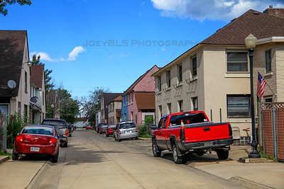 Marktown Historic District in East Chicago, Indiana