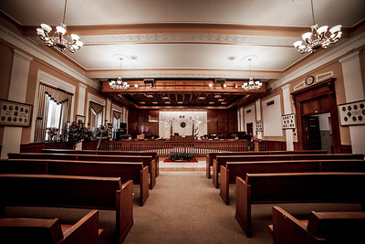 Gary City Hall Council Chambers
