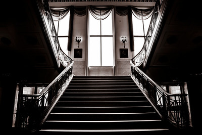 Gary City Hall Staircase in Gary, Indiana