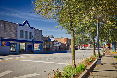 Lake Street in Downtown Miller Beach, Indiana