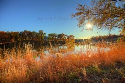 Fall at Marquette Park in Gary, Indiana