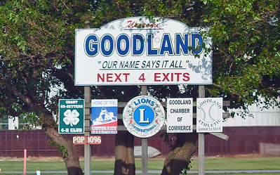Welcome to Goodland, Indiana