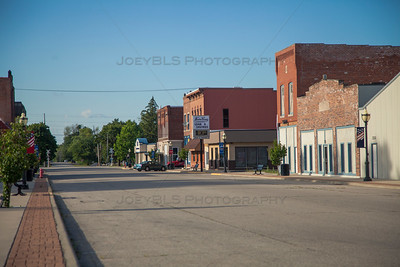Downtown Goodland, Indiana