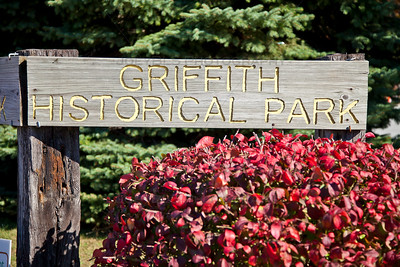 Griffith Historical Park in Downtown Griffith, Indiana