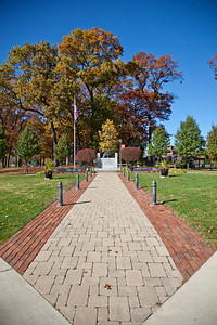Central Park in Griffith, Indiana - Vertical