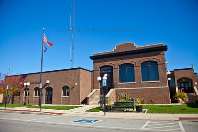 Griffith, Indiana Town Hall on Broad Street