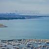 Aerial Photo of Hammond, Indiana - Hammond Marina with Chicago Skyline