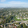 Aerial Photo of Hammond, Indiana - Orchard Drive Baseball Fields